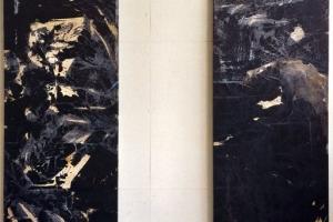 1 1 Passagen Mischtechnik auf Holz 230x200 cm 2001