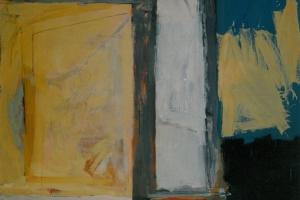 Eitempera und Öl auf Leinwand     160x200 cm     1989
