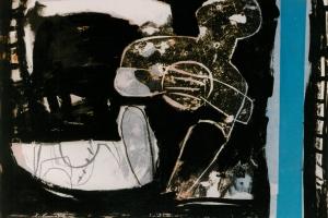 Mischtechnik auf Papier     90x120 cm     1992